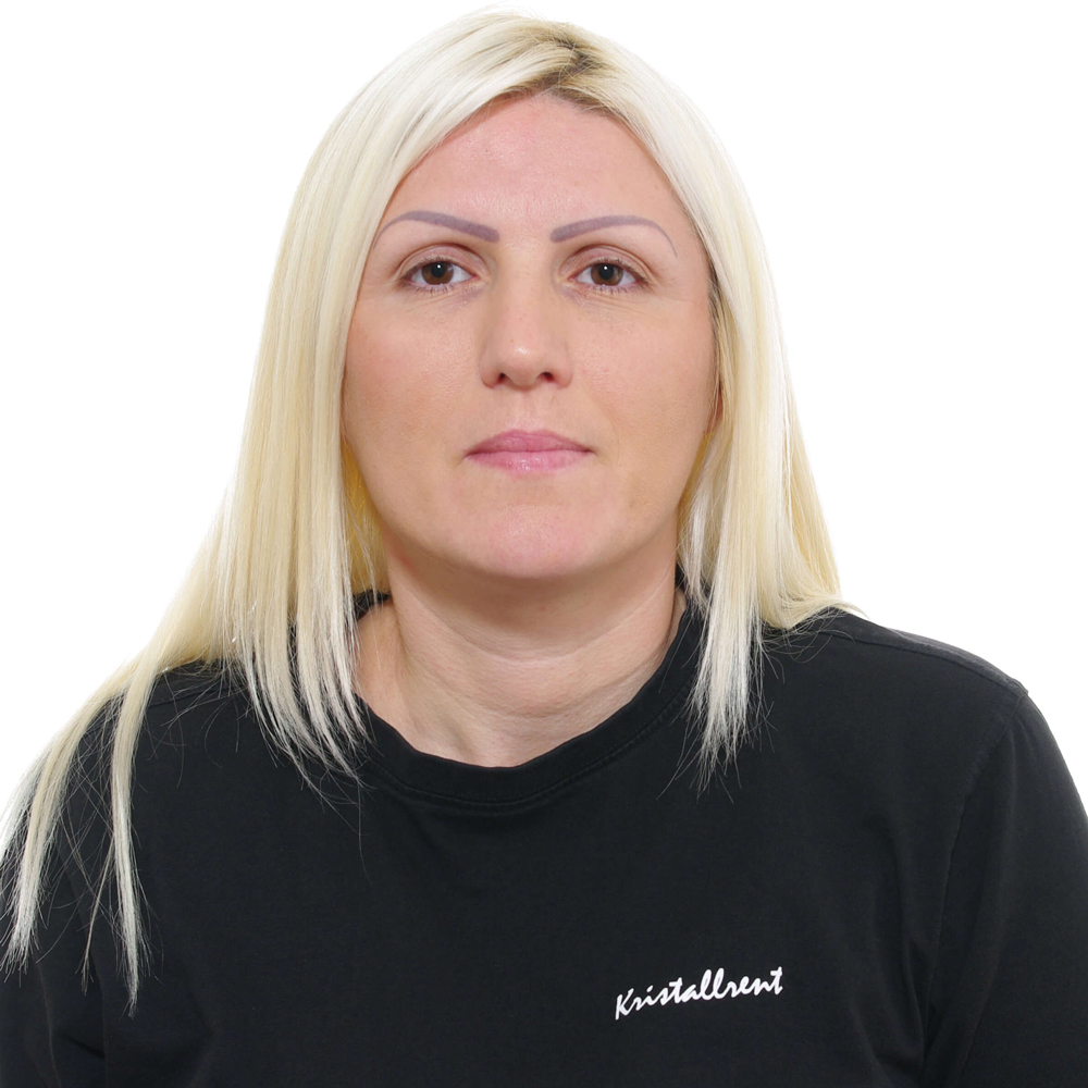 Kristina Kecman - Lokalvårdare på Kristallrent AB